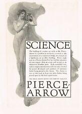 1917 Original Vintage Pierce Arrow Car Co Vincent Aderente Lady Art Print Ad