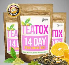 TEATOX 14 DAY DETOX EXTREME WEIGHT LOSS DIET Slimming Tea BURN FAT TEA