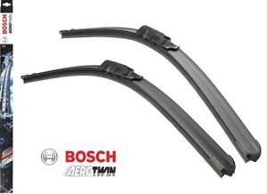 "A011S Bosch Front Windscreen Wiper Blades Set Aerotwin 550mm 450mm 22"" 18"""