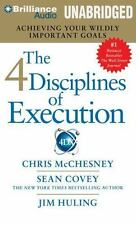 The 4 Disciplines of Execution: Achieving Your Wildly Important Goals (MP3)