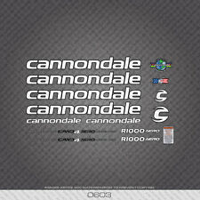 0603 Cannondale R1000 AERO Bicycle Frame Stickers - Decals - Transfers
