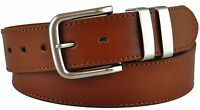 """NEW MENS BLACK BROWN OR TAN LEATHER LINED BELT 5056 SIZE 2XL XXL 46"""" WAIST NWT"""