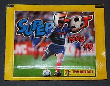 PANINI FOOTBALL FRANCE SUPERFOOT 1998-99 POCHETTE NEUVE BUSTINA TÜTE PACKET