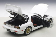 Autoart Mazda RX-7 FD Tuned Version Pure White 1/18 Scale. New Release In Stock!