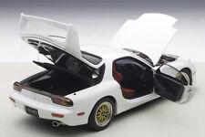 Autoart Mazda RX-7 FD Tuned Version Pure White 1/18 Scale. New Release In Stock!
