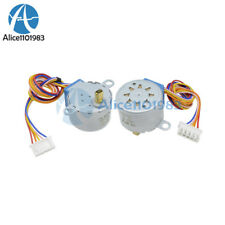 5PCS 28BYJ-48 Valve Gear Stepper Motor DC 12V 4 Phase Step Motor Arduino
