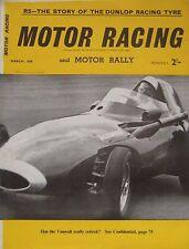 Motor Racing Magazine March 1959 Vol.6, No.3