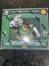 NEW PANINI METAX GREEN LANTERN TRADING CARD GAME BOOSTER 24 PACKS 12 CARDS BOX
