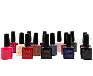 CND Shellac UV Gel Polish .25 oz -15 Exclusive Shades Open Stock NEW!