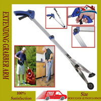 NEW EXTENDING GRABBER ARM LITTER PICKER GRAB CLAW PICK UP RUBBISH HELPING HAND