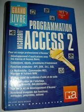 Programmation Microsoft ACCESS 2 - 1180 pages livre Micro Application