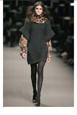 Runaway SportMax MaxMara wool-blend sweater dress tunic Size S Small