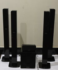 Accusound ES30 5.1 Speaker Set. Front/Rears/Center/Subwoofer