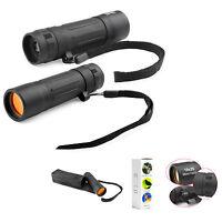 Handy Monocular Spotting Scope Adjustable Telescope 10X25 Camping Hunting Sports