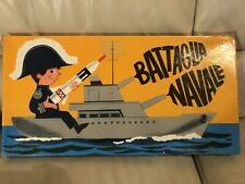 battaglia navale vintage Anni 70 Completa