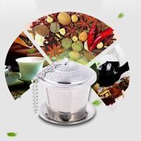 Stainless Steel Tea Infuser Loose Leaf Tea Strainer Herbal Spice Filter Steeper