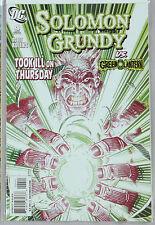 Solomon Grundy Vs Geen Lantern #4 (Aug 2009, DC) nm