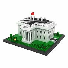 LOZ Architecture Series White House Kids Puzzle Mini Block Brick Toy w/Box