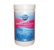 CHLORE MULTI ACTIONS 4 EN 1 TRAITEMENT PISCINE désinfection anti algues clarifie