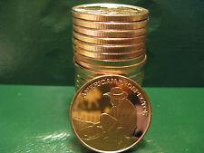 American Prospector 1oz .999 Copper 20 beautiful rounds 1 Roll in Plasitic Tube