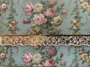 Carol Wilson Arts Stationery 10 Note Cards Envelopes Blank Floral Rose Roses
