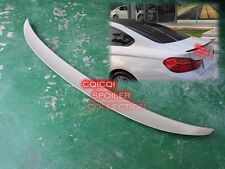 Unpainted BMW 2014~2017 F32 4-series coupe performance type trunk spoiler ◎