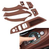 7pcs Intérieur Set de Poignée Porte Cadre Tableau pour BMW Série 5 F10 F18