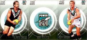 2011 Select AFL infinity Series - Team Set PORT ADELAIDE (11)
