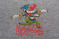 *Pre-Owned* Vintage Mossimo JESTER Gray Multi-Colors Men's T-Shirt Size M/Medium