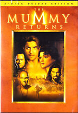 New THE MUMMY RETURNS DVD BOXSET 2-DISC DELUXE EDITION w bonus features