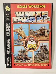 White Dwarf Magazine Issue #100 April 1988 - Anniversary Issue - Games Workshop