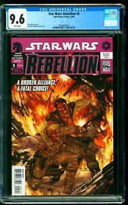 Star Wars: Rebellion 5 CGC 9.6 NM+ Luke Skywalker Darth Vader Dark Horse