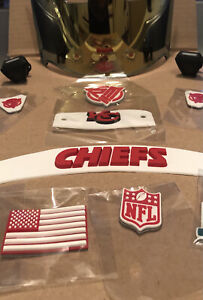 Kansas City Chiefs Front And Rear 3D Bumpers Set Mahomes Package