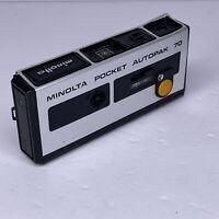 Vintage Minolta Pocket Autopak 70 Film Camera Japan