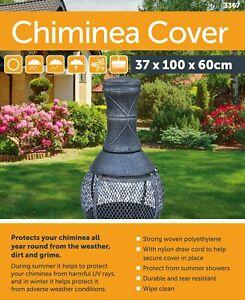 CHIMINEA CHIMENEA CHIMNEA COVER WATERPROOF PROTECTOR HEAVY DUTY OUTDOOR