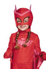 Pj Masks Owlette Deluxe Toddler Girl Character Red Costume Mask