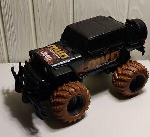 New Bright Jeep Wrangler Mud Slinger Crawler Body & Wheels Black