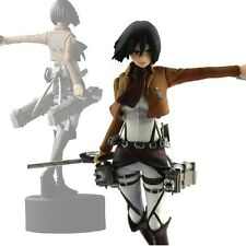 Anime High Quality Shingeki No Kyojin Mikasa PVC Figure Attack On Titan