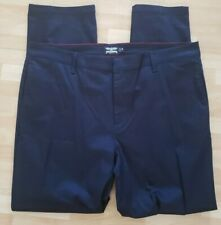 All American Workwear Pants Navy Blue 40x33 4 pockets