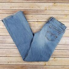 Forever 21 Juniours Light Blue Low Rise Flare Leg Jean Size M