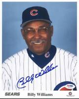 Cubs Billy Williams Signed Authentic 8X10 Photo Autographed PSA/DNA #U67475
