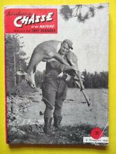 Les Cahiers de Chasse 29 1956 caille bécasse blaireau castor cerf lézard chamois