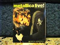 METALLICA-RIVISTA IN INGLESE CON MANIFESTO CENTRALE- MARK PUTTERFORD - 33 PAGINE