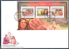 GUINEA 2012 COMMEMORATION OF PRINCE WILLIAM WITH KATE MIDDLETON  SHEET FDC