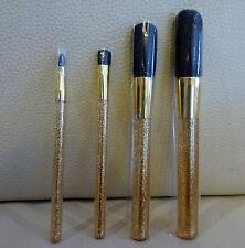1x ESTEE LAUDER 4 piece Golden Makeup Brush Set, Brand NEW Sealed! 100% Genuine!