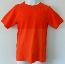NWT~Nike DRI-FIT PACER RUNNING gym workout Top Shirt~Mens Sz L