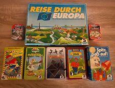 8 Schmidt Spiele Kinderspiele Konvolut Sammlung