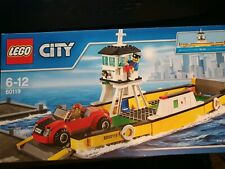 Lego City 60119 City Ferry Complete - Mini figs & Instructions & Boxed