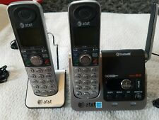 At&t  Two Handset Phone System Bluetooth TL92270 (Needs Batteries)