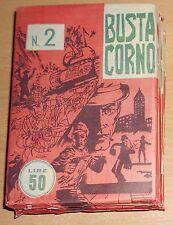 BUSTE CORNO DA £ 50 DI GUERRA CON 3 FUMETTI N° 2-5-8  ORIGINALI  !!!!!